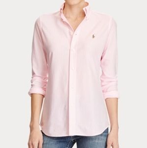 Ralph Lauren | Pink Pinstripe Button Down 14